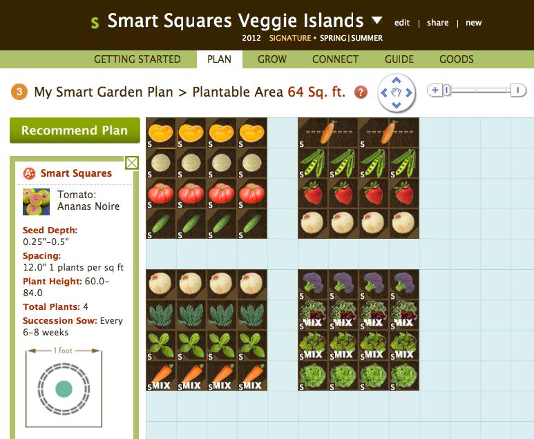 Smart Squares - Square Foot Gardening Smart Gardener