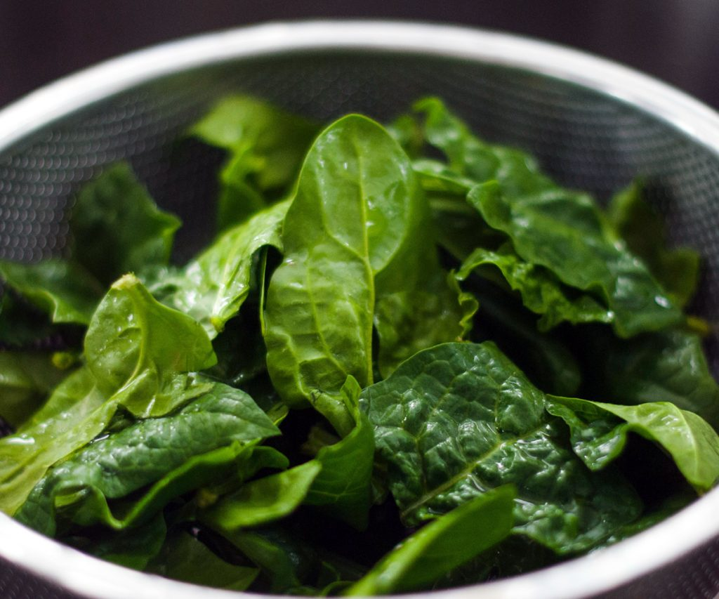 Tips for growing spinach - washing spinach
